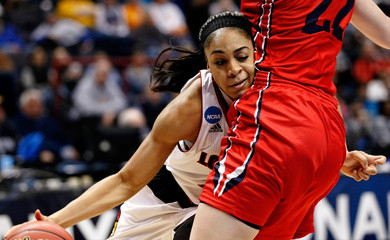 NCAA Womens Basketball: NCAA Tournament-Albany Regional-Dayton vs Louisville
