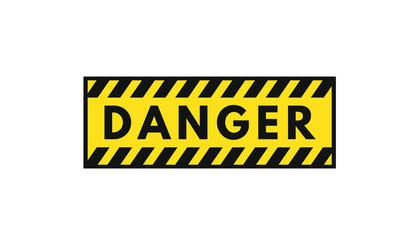 Danger general warning icon