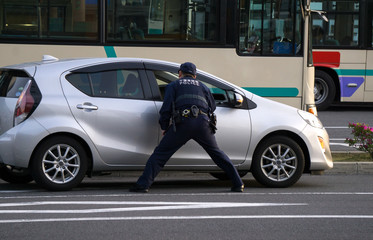 写真の検索: 交通巡視員