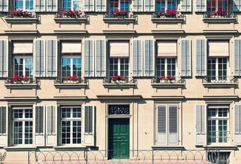 Traditional Building in Bern, Switzerland