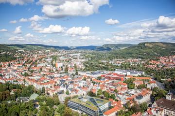 Über den Dächern von Jena/Thüringen