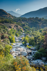 Kaweah River in Sequoia National Park.