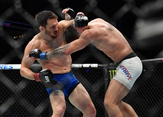 MMA: UFC Fight Night-Ellenberger vs Perry