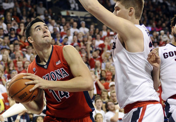 NCAA Basketball: Arizona at Gonzaga