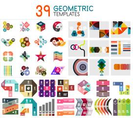 Mega collection of geometric templates