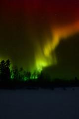 Photo sur Aluminium Pôle Aurora Borealis