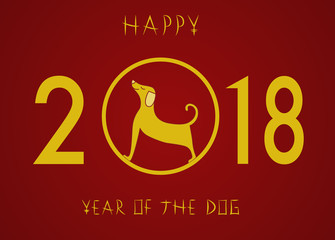 2018 year of the dog in the Chinese zodiac