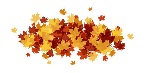 AUTUMN LEAVES BANNER (narrow)