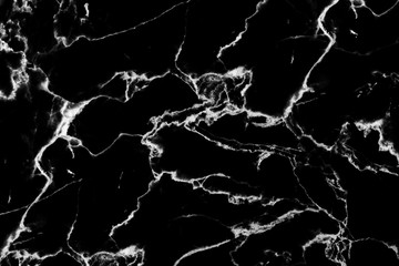 black and white natural marble texture background for design.