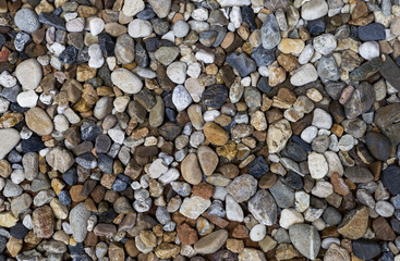 Nature color pebble stone background