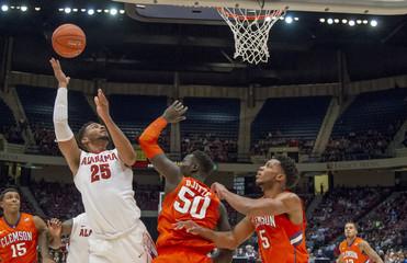 NCAA Basketball: Clemson at Alabama