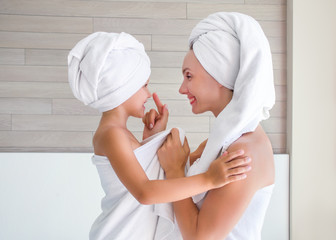 hygiene and care in the family