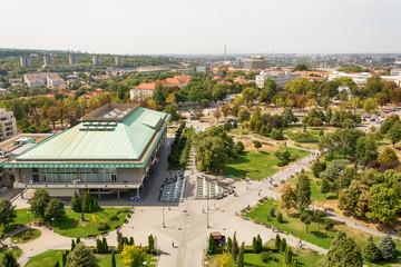 Belgrade, Serbia 11/09/2017: national library of Belgrade