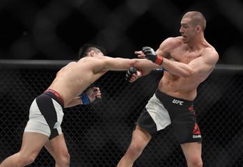 MMA: UFC Fight Night-Breese vs Nakamura