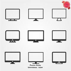 Monitor icons
