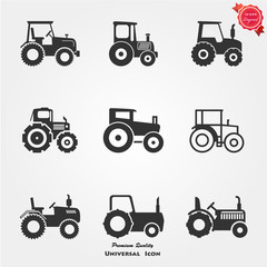 Tractor icons