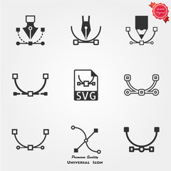 SVG file icons