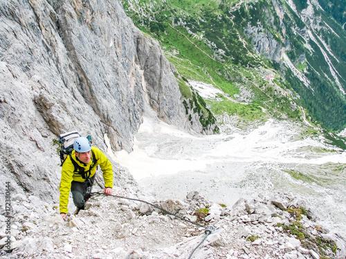 Klettersteig Italien : Schwierigkeitsgrade klettersteige schall skala hüsler