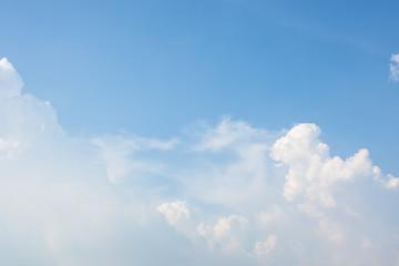 Cloud blue sky