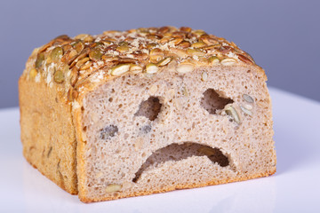 trauriges Brot