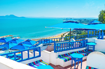 Luxury resort of Sidi Bou Said