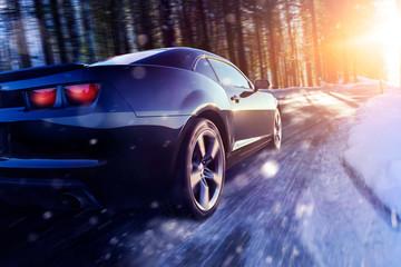 Auto im Winter