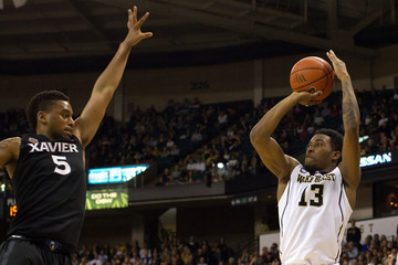 NCAA Basketball: Xavier at Wake Forest