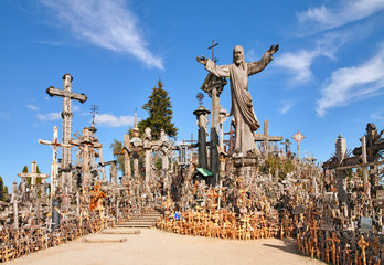 Hill of Crosses is a unique monument of history and religious folk art in Siauliai, Lithuania.