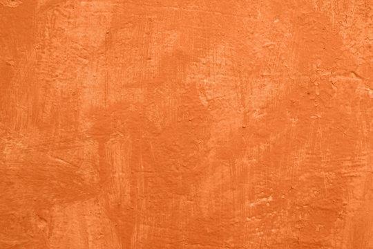 orange texture concrete wall