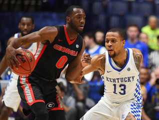 NCAA Basketball: SEC Tournament-Kentucky vs Georgia