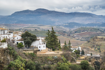 View of Ronda, Andalusia, Spain.