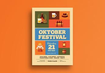 Oktoberfest Event Flyer 2