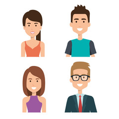 young people group avatars