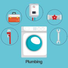 plumbing line set icons