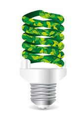 Ecologic energy saving light bulb