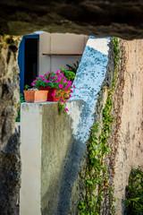 Vue sur le village de Villefranche-de-Conflent du haut des remparts