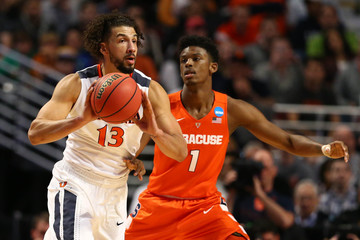 NCAA Basketball: NCAA Tournament-Midwest Regional-Virginia vs Syracuse