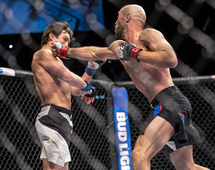 MMA: UFC Fight Night-Burkman vs Noons