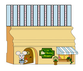 Millie Mouse's Cheese Shop