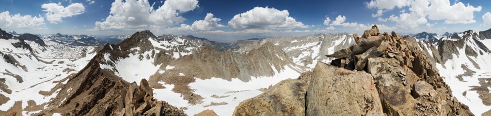 Mount Wallace Summit Panorama