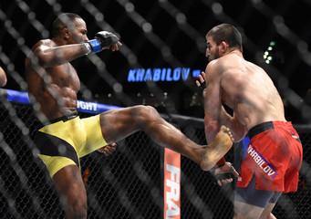 MMA: UFC Fight Night-Khabilov vs Silva
