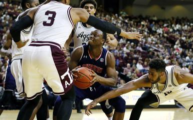 NCAA Basketball: Auburn at Texas A&M
