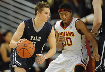NCAA Basketball: Yale at Southern California