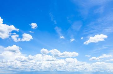 Canvas Prints Cloudscape with Blue Sky