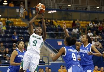 Pan Am Games: Basketball-Brazil vs Dominican Republic