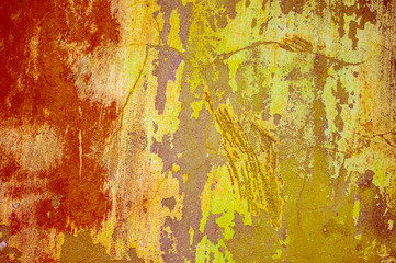 Grunge wall classic background. Color grunge texture. Old style pattern..