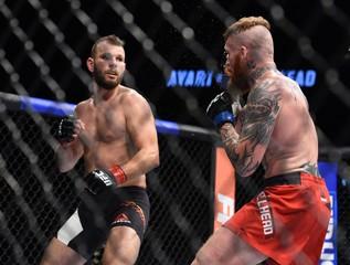 MMA: UFC Fight Night-Ayari vs Wallhead