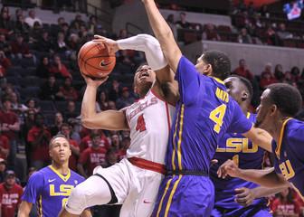 NCAA Basketball: Louisiana State at Mississippi