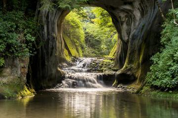Fotomurales - 君津市の濃溝の滝