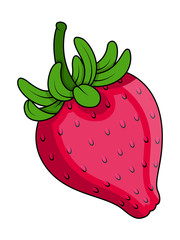 Strawberry Vector - clip-art vector illustration
